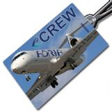 ADRIA AIRWAYS CRJ200 Crew Tag